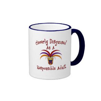 Responsible Adult Ringer Mug
