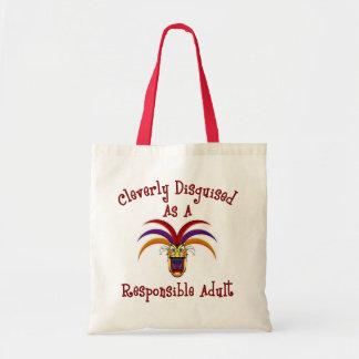 Responsible Adult Tote Bag