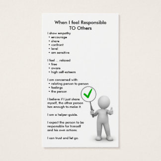 Responsible Cards