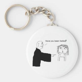 Responsible Vampire Basic Round Button Keychain