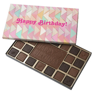 Responsibly Sourced Belgian Chocolate Box Pastel