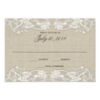 Respuesta floral del boda del diseño del cordón comunicados