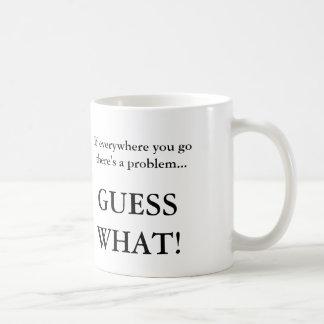 Respuesta sarcástica a la gente molesta taza de café