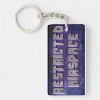 Resstricted Airspace Keychain