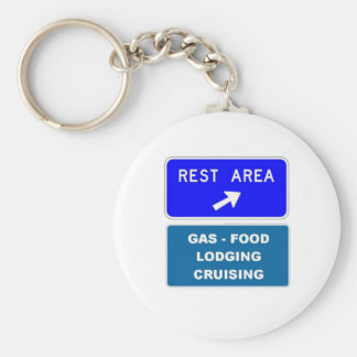 Rest Area Keychain