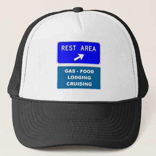 Rest Area Trucker Hat