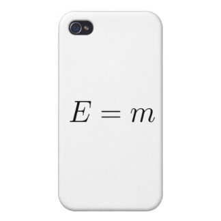 rest energy in natural units iPhone 4 cover