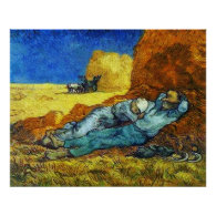 Rest  from Work Vincent van Gogh Posters