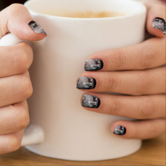 rest in expectation  	Minx® nail art