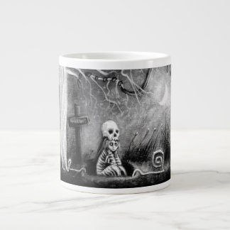 rest in expectation 20 oz large ceramic coffee mug