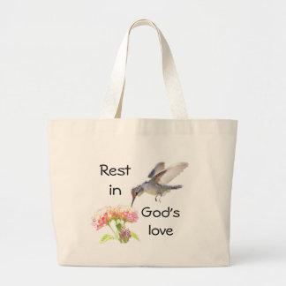 Rest In God's love Tote Bag