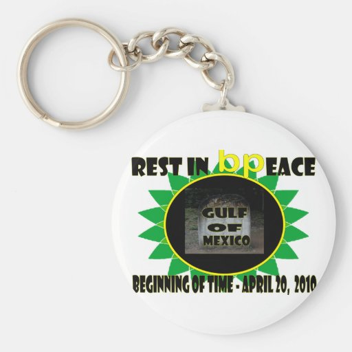Rest In Peace 2 Basic Round Button Keychain
