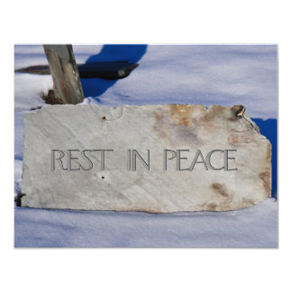 Rest in Peace Card