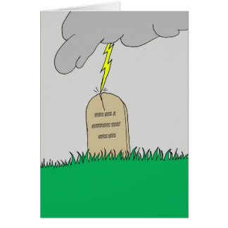Rest In Peace Marriage Greeting Card
