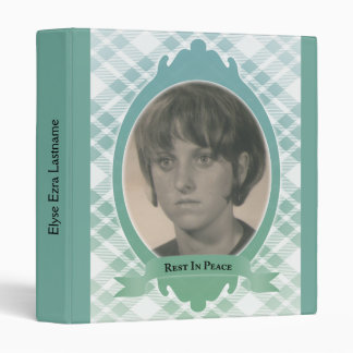 rest in peace memorial guest book binder