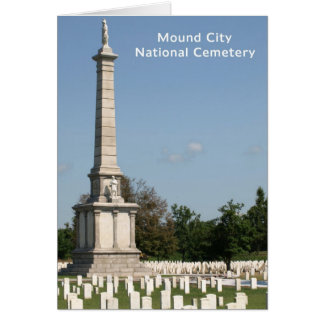 Rest In Peace - National Cemetery Greeting Card
