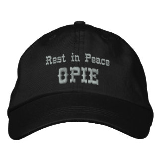 Rest in Peace Opie Embroidered Baseball Caps