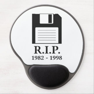 Rest in Peace RIP Floppy Disk Gel Mouse Pad