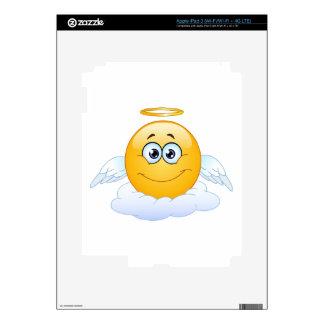 Rest in Peace RIP Heaven Angel Emoji Skin For iPad 3