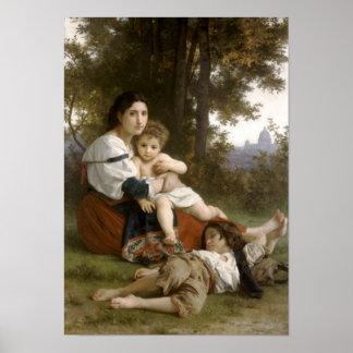 Rest, Le Repos, (1879) Poster