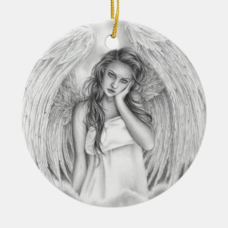 Rest my love Angel Ornament