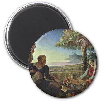 Rest On The Flight By Runge Philipp Otto Magnets