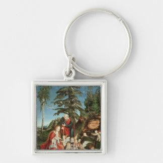 Rest on the Flight into Egypt, 1504 Keychains
