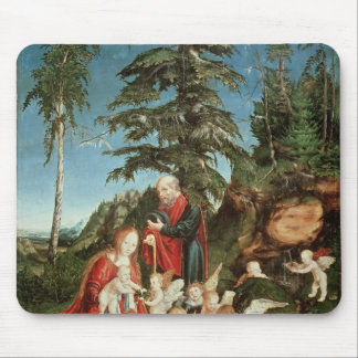 Rest on the Flight into Egypt, 1504 Mouse Pad