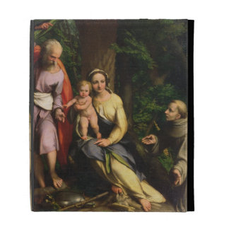 Rest on the Flight into Egypt, c.1515 (oil on canv iPad Case