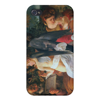 Rest on the Flight into Egypt, Caravaggio Case For iPhone 4