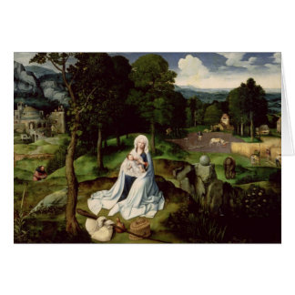 Rest on the Flight into Egypt Card