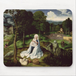 Rest on the Flight into Egypt Mouse Pad