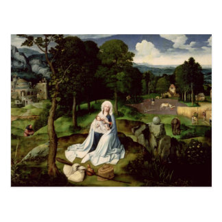 Rest on the Flight into Egypt Postcard