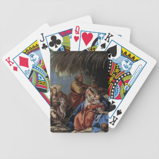 Rest on the Flight to Egypt by Giovanni Tiepolo Bicycle Card Deck
