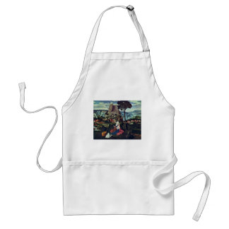 Rest On The Flight To Egypt By Patinir Joachim (Be Adult Apron