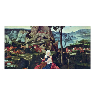 Rest On The Flight To Egypt By Patinir Joachim (Be Picture Card