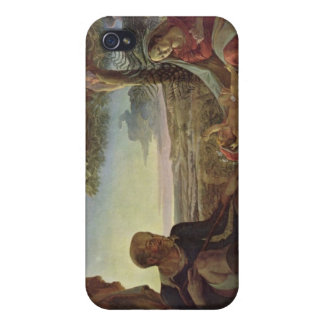 Rest on the Flight to Egypt - Way to Egypt iPhone 4 Covers