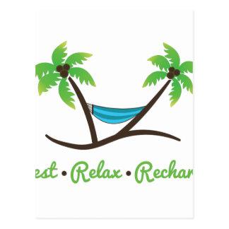 Rest Relax Postcard