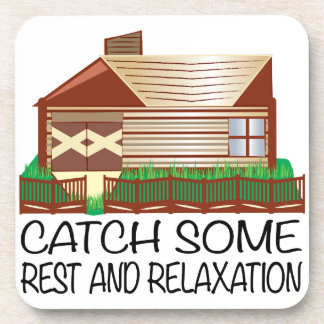 Rest & Relaxation Drink Coasters