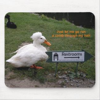 Rest Room Duck Mousepads