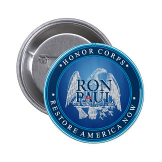 Restablecimiento América de Ron Paul ahora Pin Redondo De 2 Pulgadas