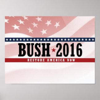 RESTABLECIMIENTO AMÉRICA - .PNG DE BUSH 2016 POSTERS