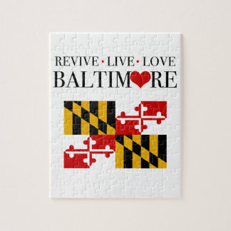 Restablezca el amor vivo Baltimore Rompecabeza