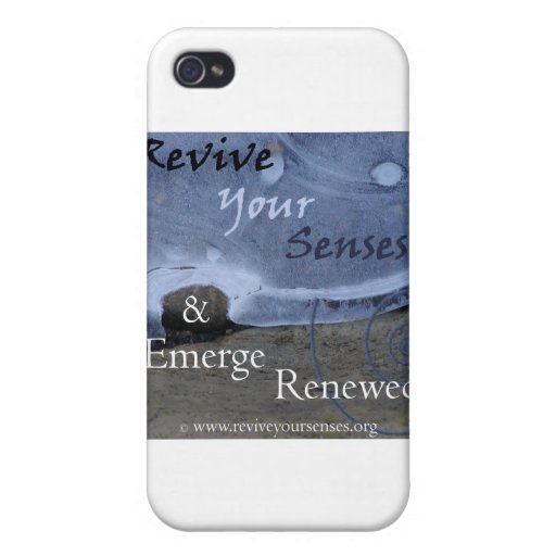 Restablezca sus sentidos y emerja renovado iPhone 4 carcasas