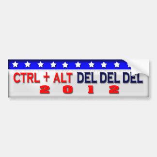 Restart America 2012 Car Bumper Sticker