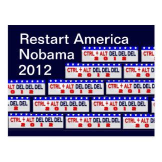 Restart America Postcard