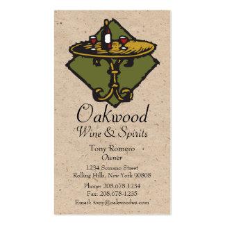 Restaurant, Bar, Bistro, Wine&Spirits 2 Business Card