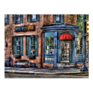 Restaurant - Cafe America Postcard