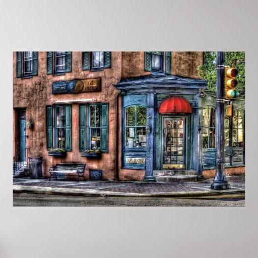 Restaurant - Cafe America Print
