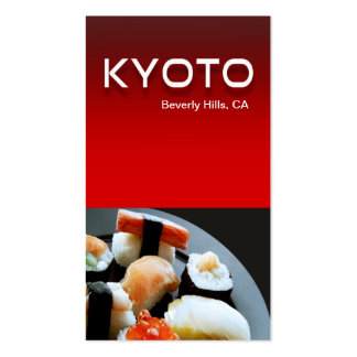 Restaurant Catering Eateries Cuisine Double-Sided Standard Business Cards (Pack Of 100)